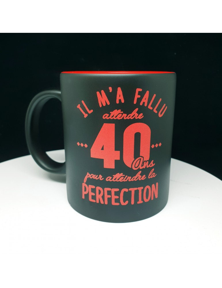mug 40 ans