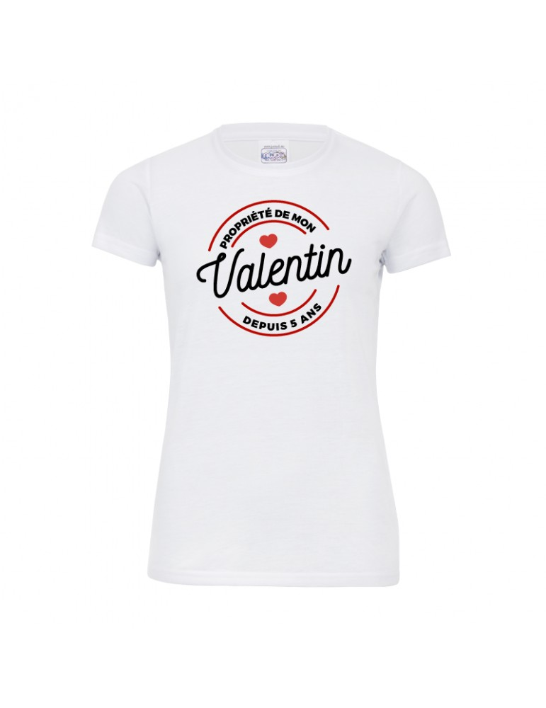 Tee-shirt  pour Valentine