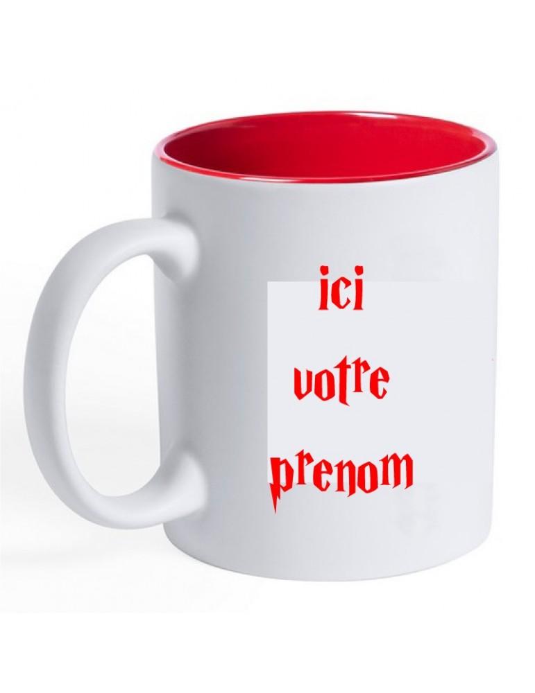 mug gryffondor personnalisable