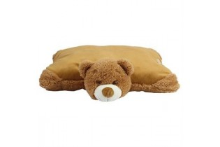 Coussin peluche ours