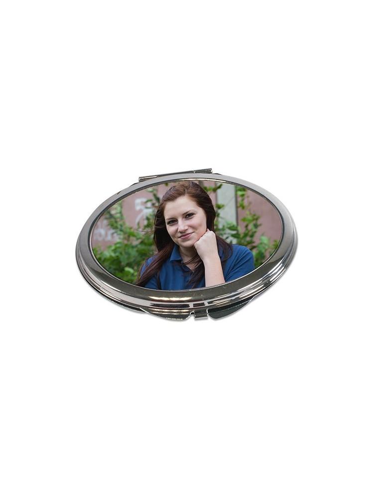 miroir ovale personnalisable