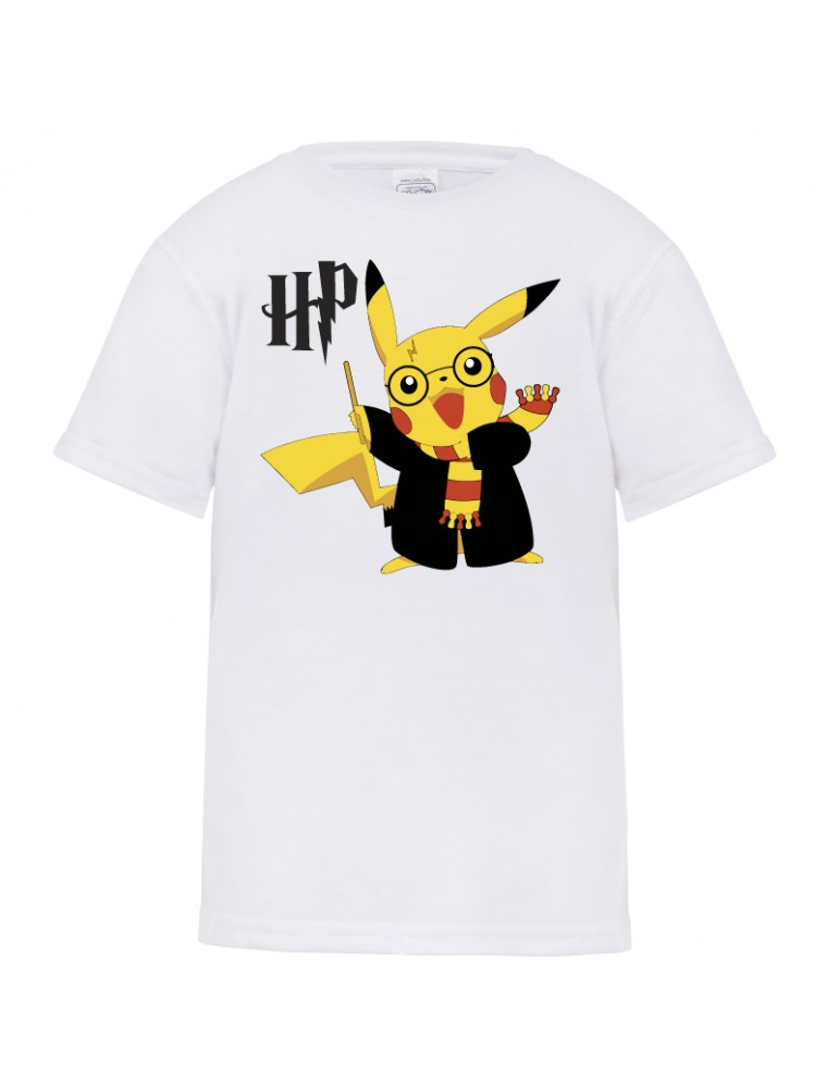tee shirt pikatshu harry potter