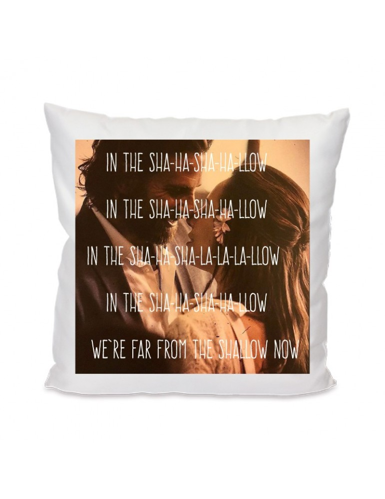 coussin a star is born shallow