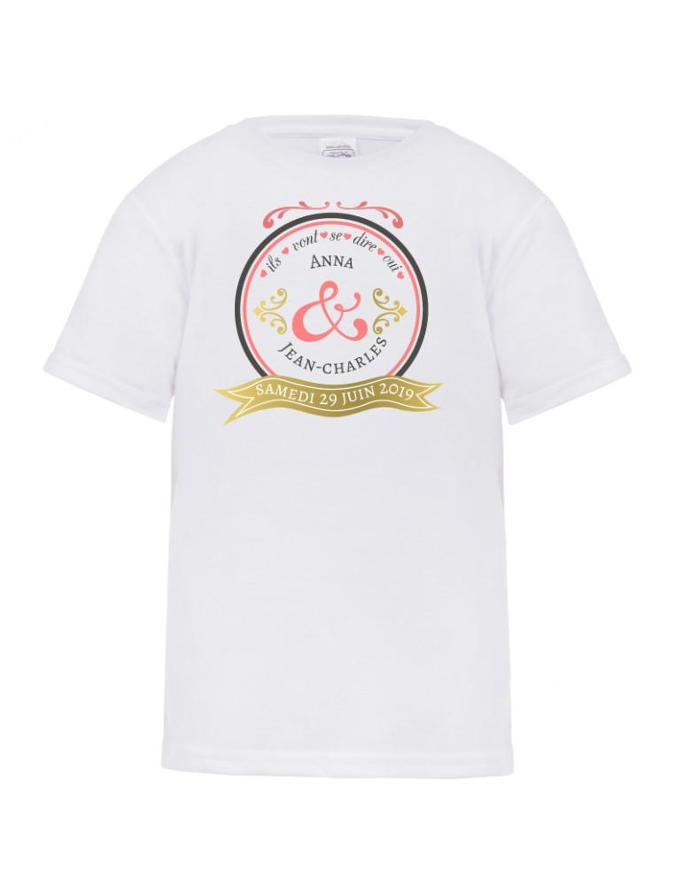 tee-shirt evjf cadeau pour future mariée