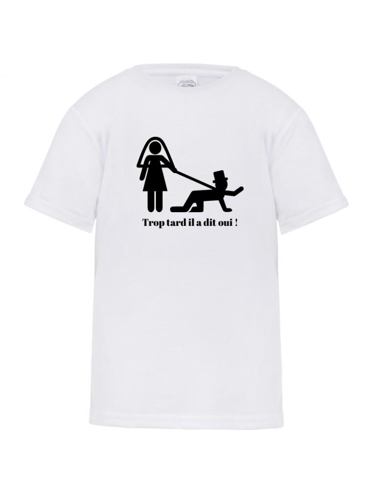 Tee-shirt futur marié