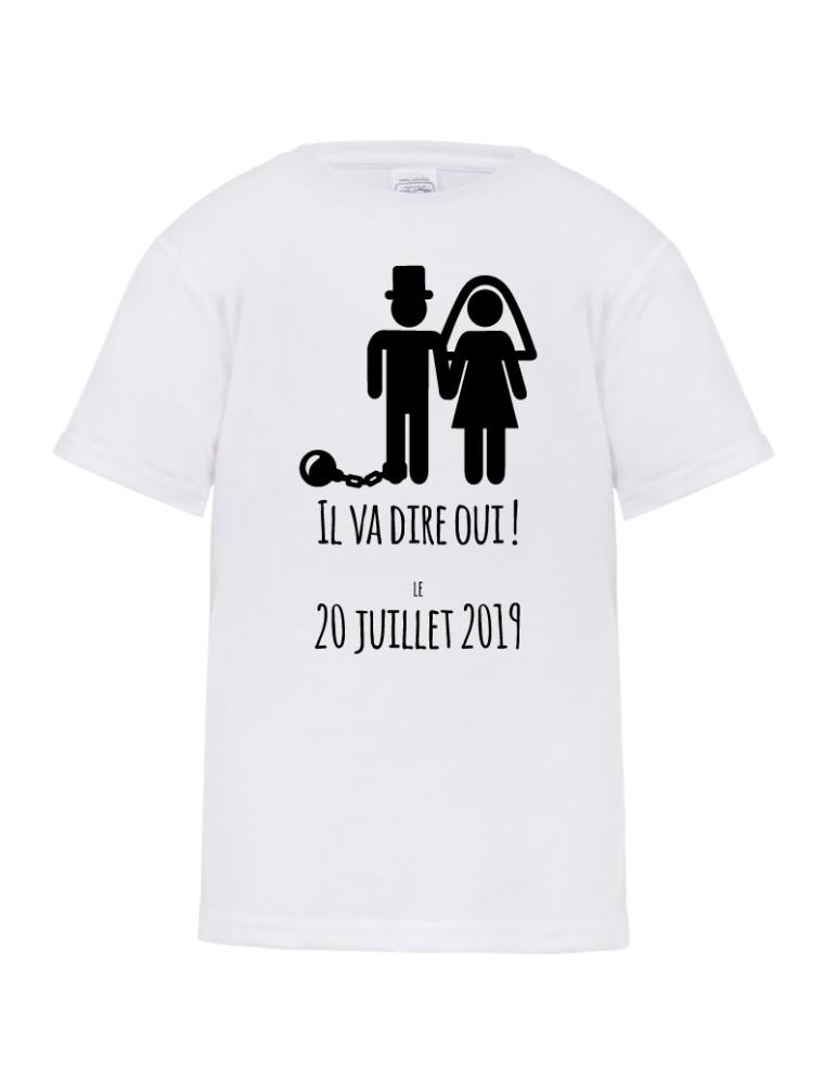 tee shirt humour futur marié
