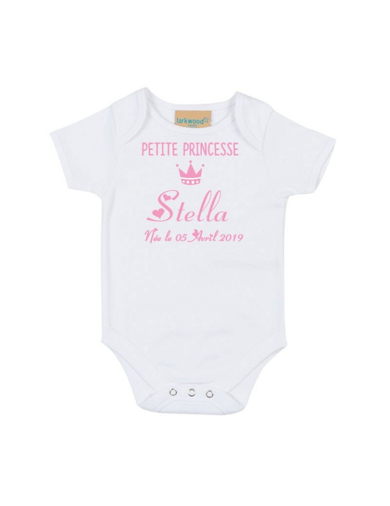 Body blanc petite princesse