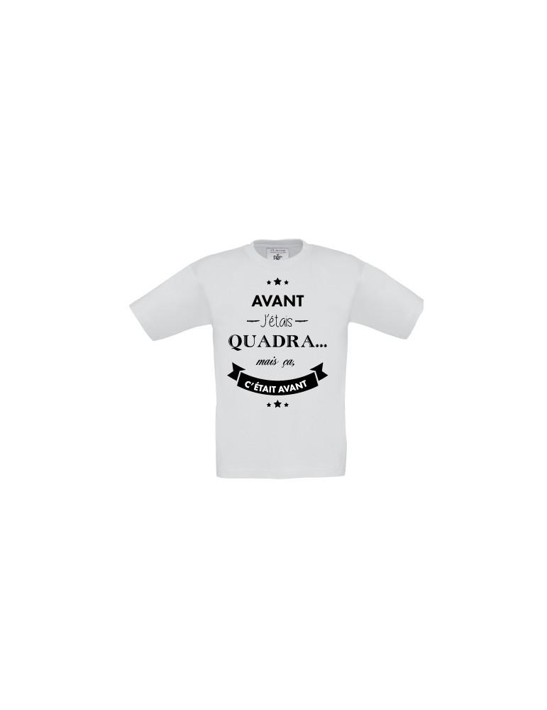 Tee-shirt anniversaire quadra