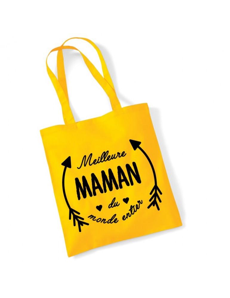 tote-bag meilleure maman du monde