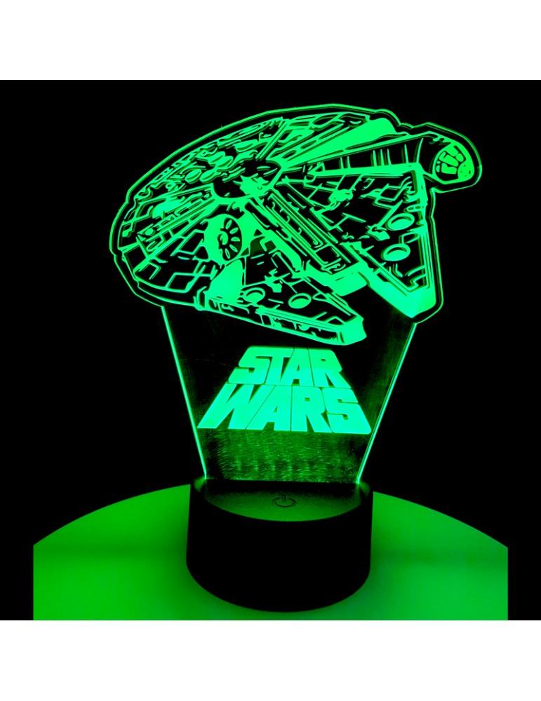 lampe 3D star wars