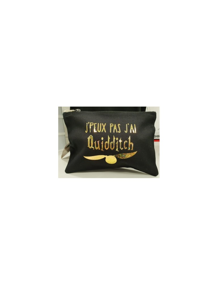 pochette harry-potter j'peux pas j'ai quidditch