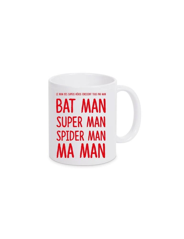 mug maman super héros
