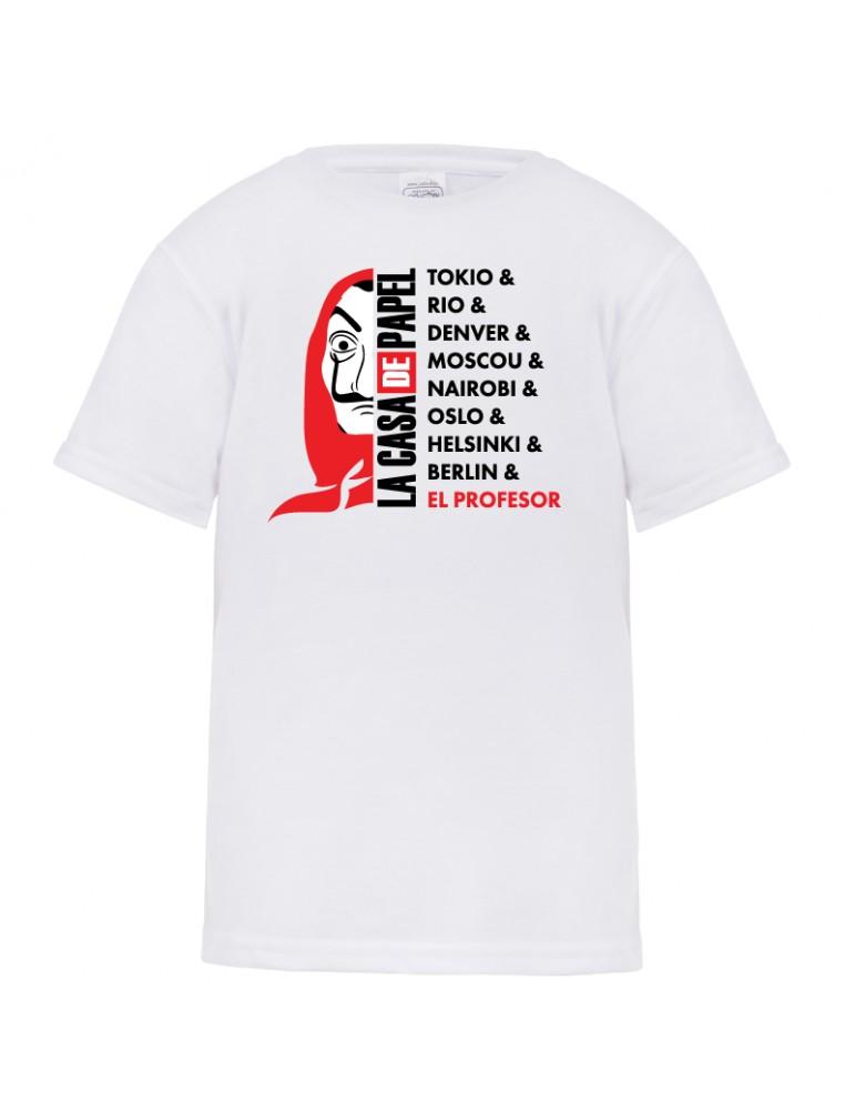 Tee-shirt La casa de papel 2